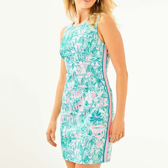 Lilly Pulitzer Dresses & Skirts - NWT Lilly Pulitzer Colorful Camelflage Mila shift
